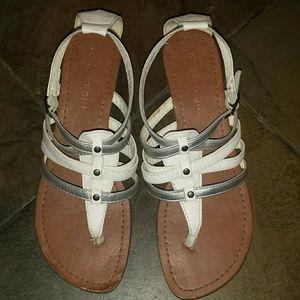 Madden Girl white sandals size 7